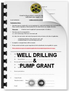Grant Aid For Drilling A Well In Cork Amp Kerry